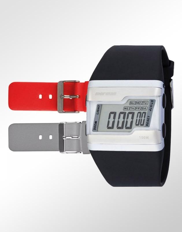 730106b9c57 Relógio Mormaii Unissex Acquarela Troca Pulseiras Fzv 8r - R  169