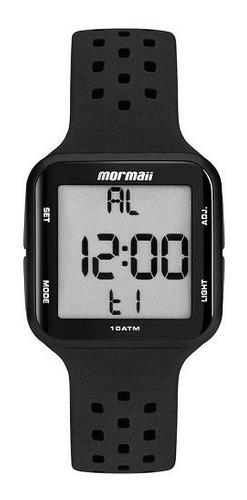 relógio mormaii unissex digital mo6600/8p
