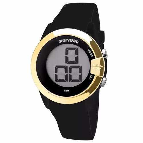 relógio mormaii unissex digital original c/ n.f. mo13001/8p