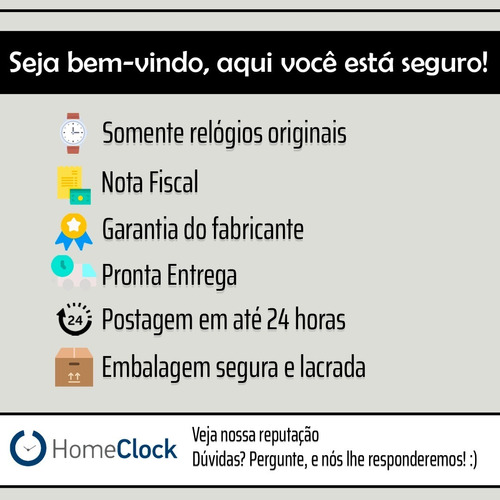 relógio mormaii unissex digital verde prova d'água original