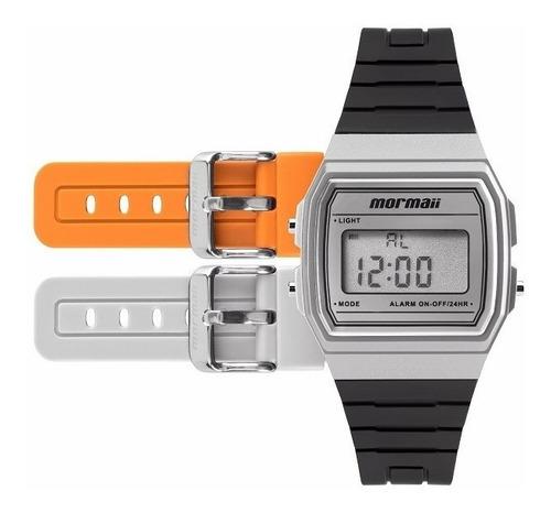 relógio mormaii unissex mojh02ag/8k troca pulseira