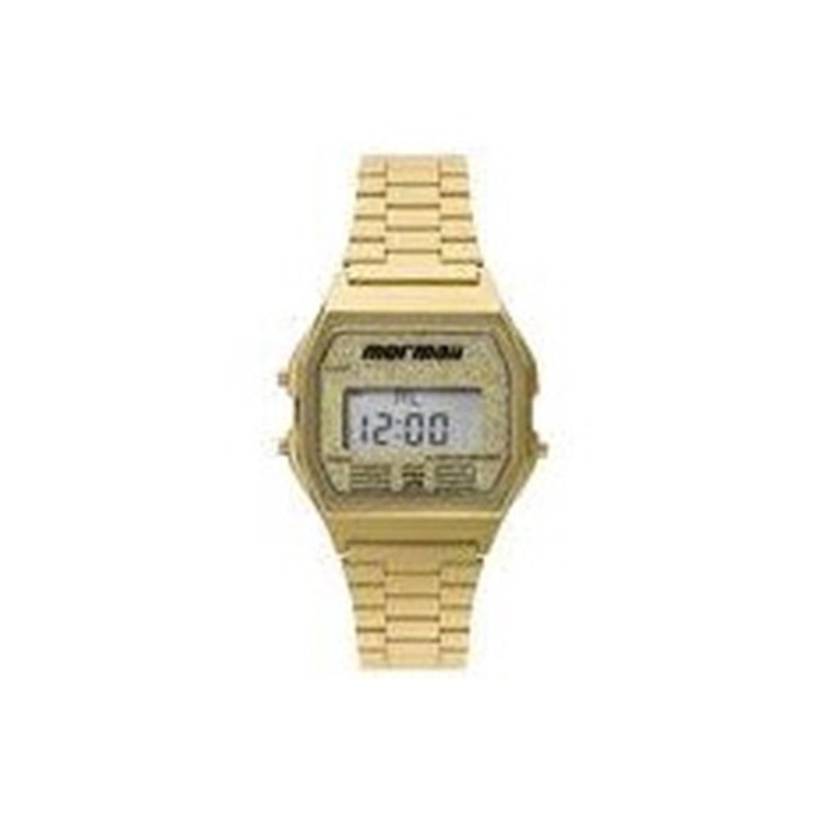 fc1b75b736b7e relógio mormaii vintage feminino dourado digital mojh02ad 4b. Carregando  zoom.