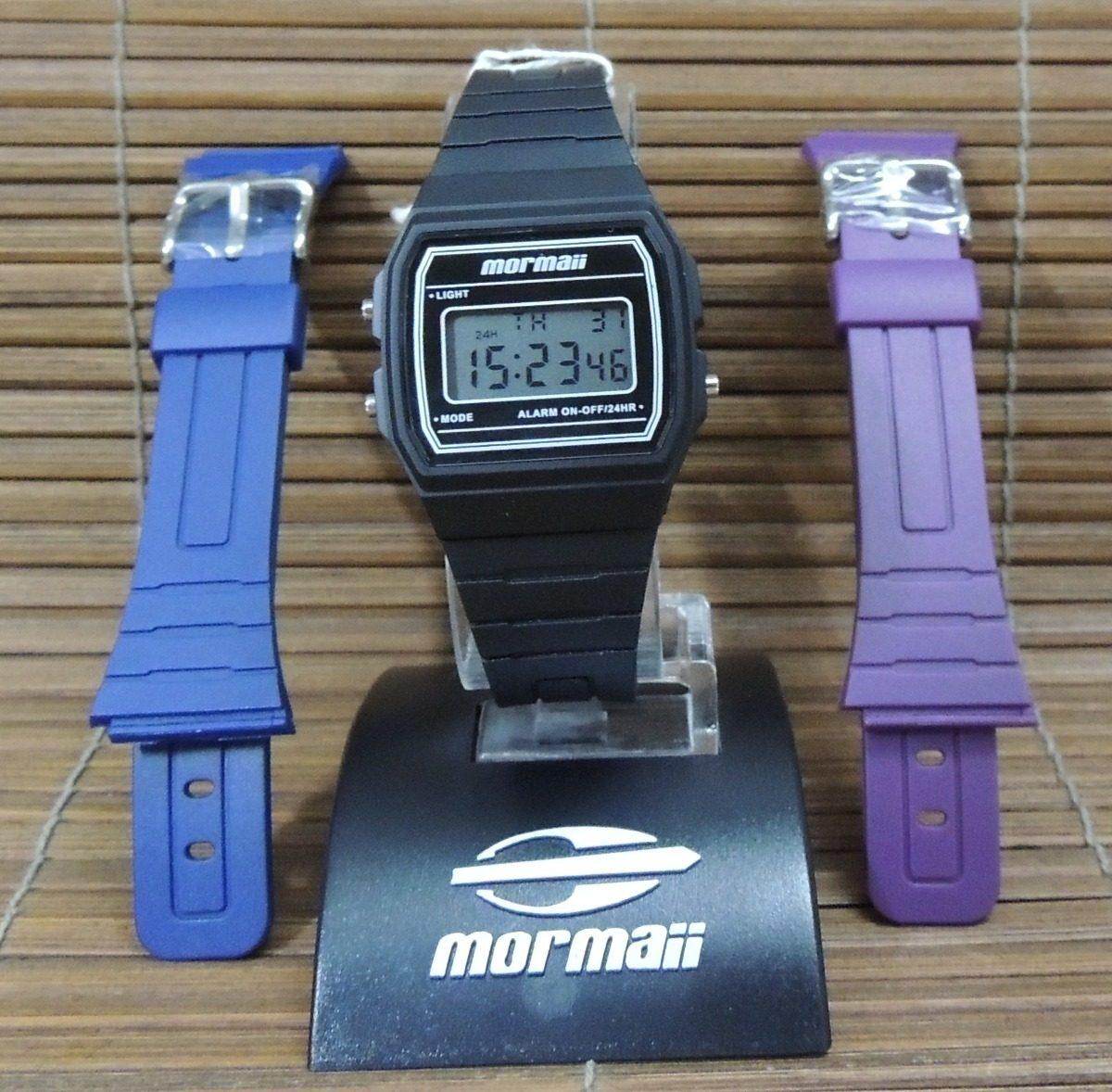 893080e82b8c2 relógio mormaii vintage troca pulseiras mojh02ah 8p - nf gar. Carregando  zoom.