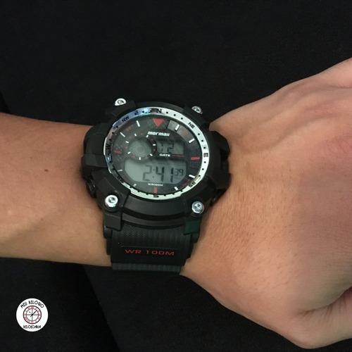 relógio mormaii - wave mo3530a8r