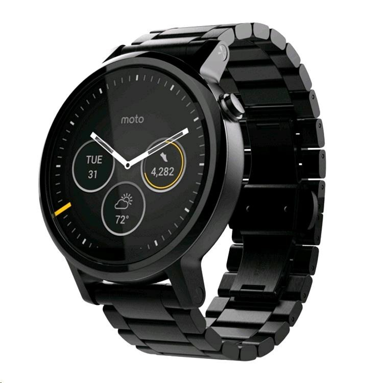 Relogio Moto 2nd Gen Moto 360 46mm Smartwatch Pulseira ...