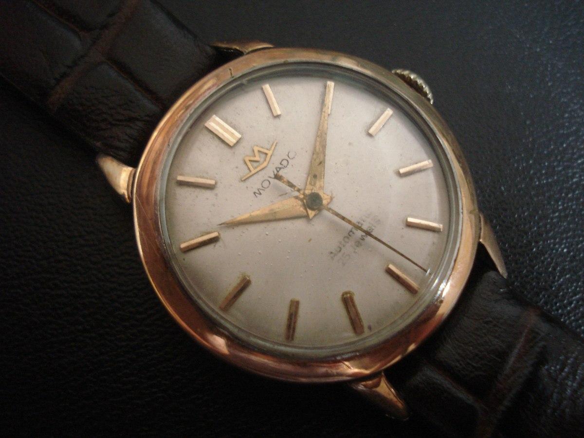 4164c7b1b9e relógio movado aço ouro automático suiço antigo. Carregando zoom.