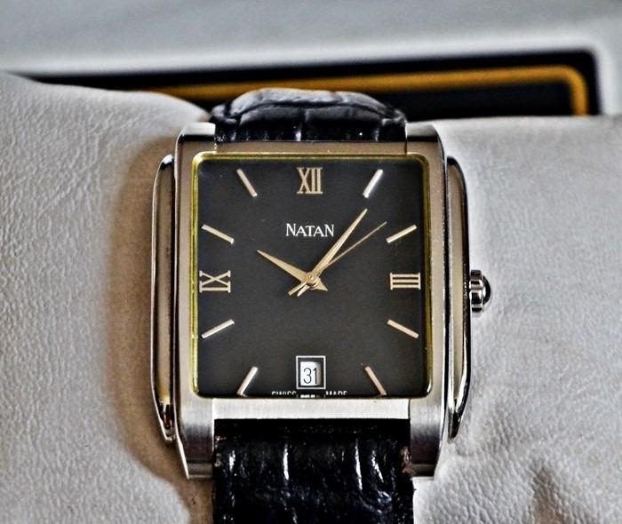8e6d51a47ed Relógio Natan Jóias ....original Com Certificado .. - R  2.400