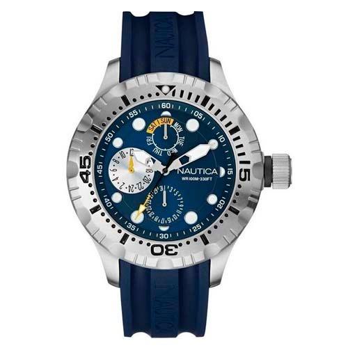 3672a8afce7 Relogio Nautica A15105g Original Importado Sorte Sua - R  579