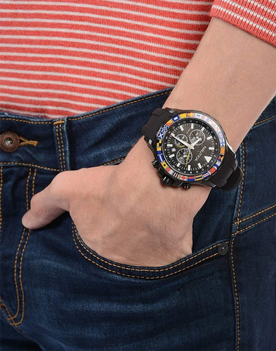 relógio náutica bali cronógrafo  nad21011g