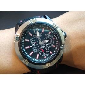 Relógio Náutica Gigante 5.2 Masculino Preto 100mtr