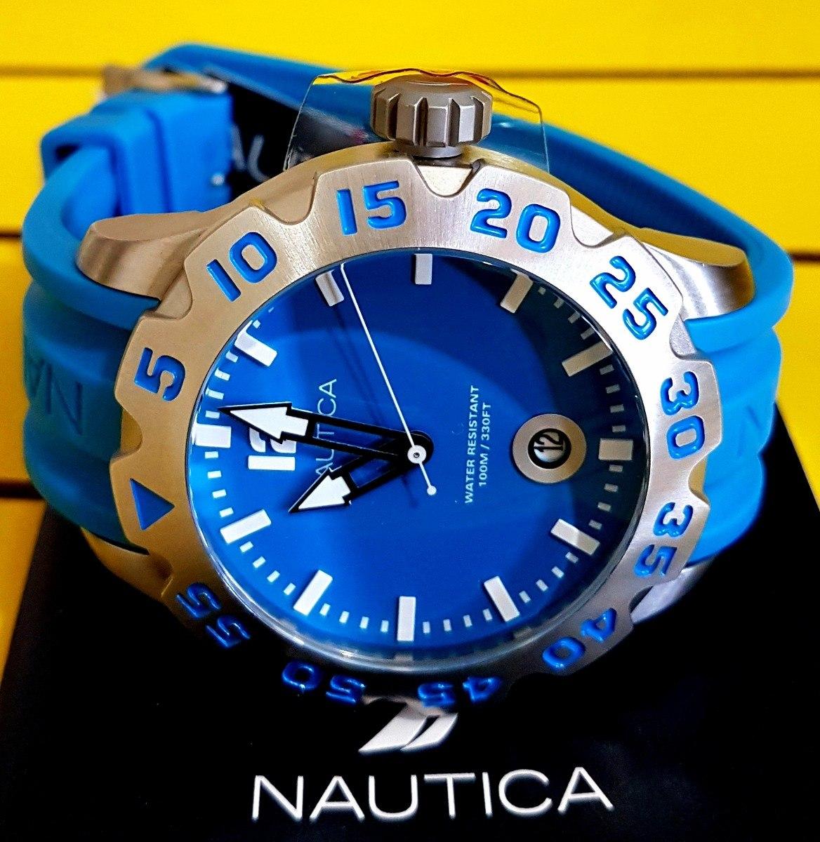 895b4b5f8d6 Relógio Nautica Lançamento A14602g Original. - R  579