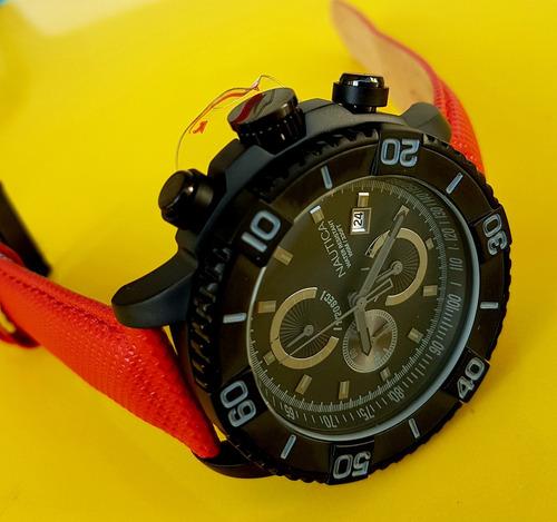 relógio nautica lançamento a17605g original.