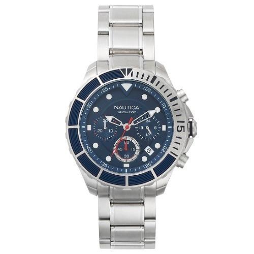06a5cbeedec Relógio Nautica Masculino Aço - Napptr004 - R  1.154