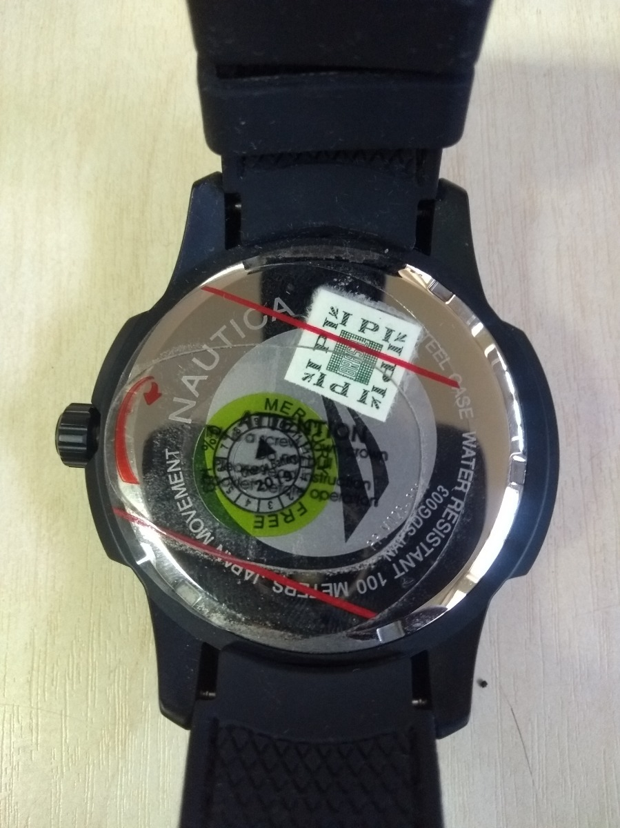 db2af792e53 relógio nautica napsdg003 san diego. Carregando zoom.