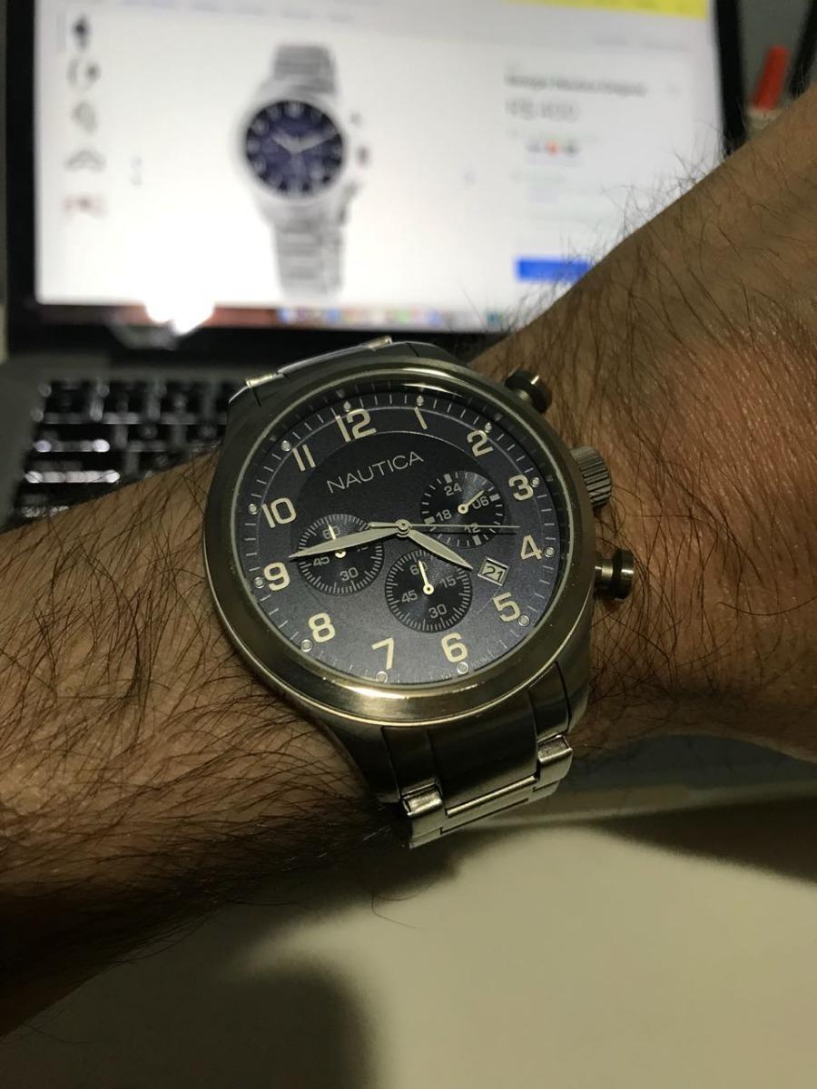 7b061a21819 relógio náutica original a17664g. Carregando zoom.
