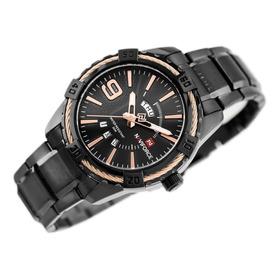 Relógio Naviforce 9117 Original Prova D'água 3 M De Garantia