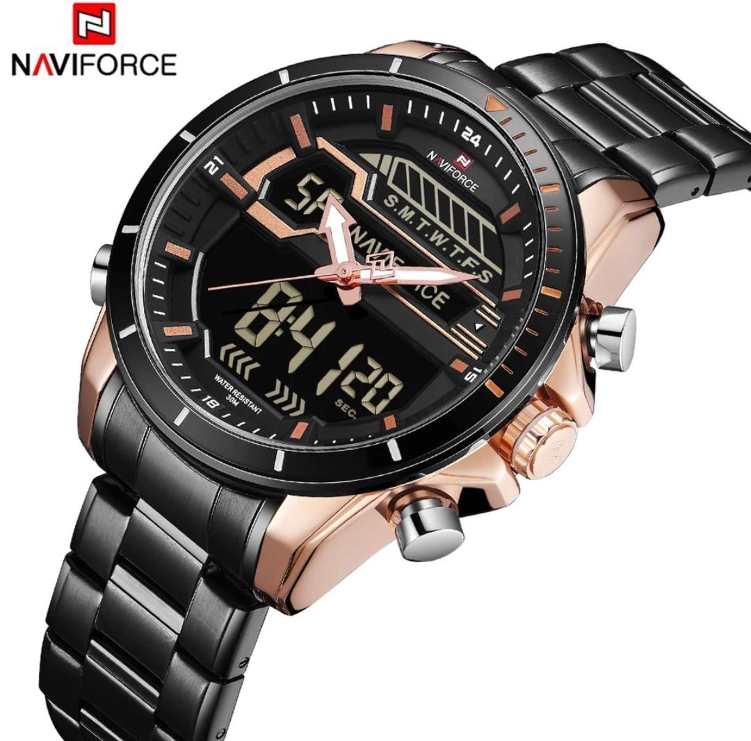 874afe2aee3 Relógio Naviforce De Luxo Original