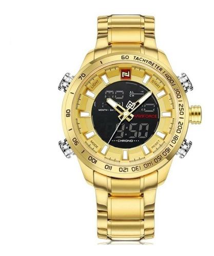 relógio naviforce esportivo digital e analógico original