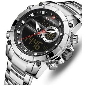 Relógio Naviforce Masculino Modelo 9163 Analógico E Digital