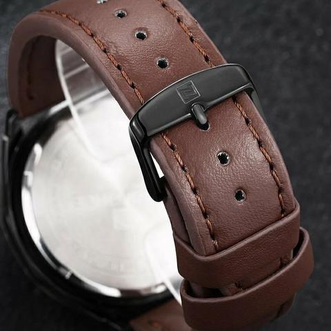 relógio naviforce masculino original importado 9056 nota f.