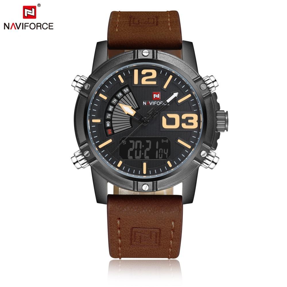 c90fac0cf27 Relógio Naviforce Nf9095m - R  179