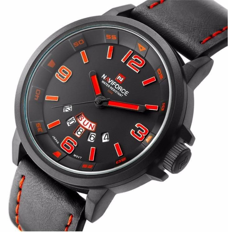36e7c896d68 Relógio Naviforce Original Masculino Esportivo Presente Top! - R  123