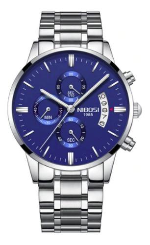 relógio nibosi masculino original funcional pronta entrega