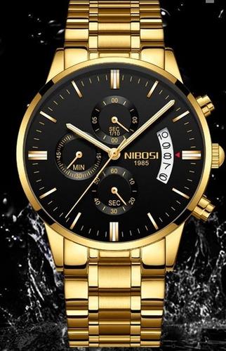 relógio  nibosi  original promoção  sem juros frete grátis