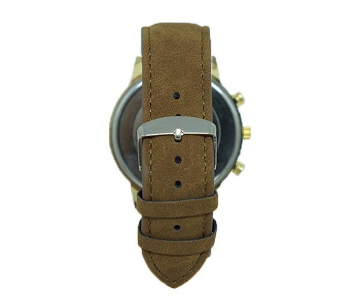 0342dde3b11 Relógio Nike Dourado Com Pulseira De Couro Caramelo - R  70