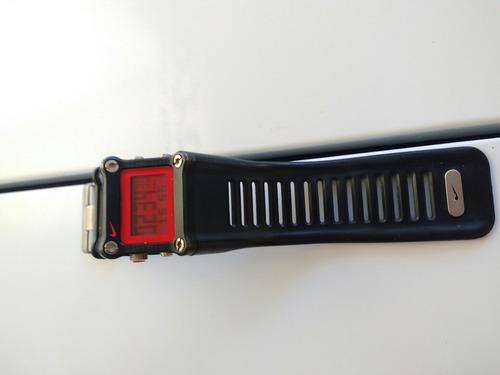 relogio nike hammer vermelho com preto  rarisisimo barato!