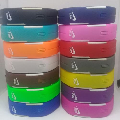 relógio nike pulseira led watch /2 baterias