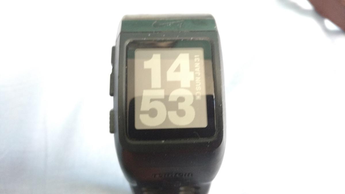 relógio nike + sportwatch gps tomtom pulseira quebrada. Carregando zoom. b0cae925d1dfb