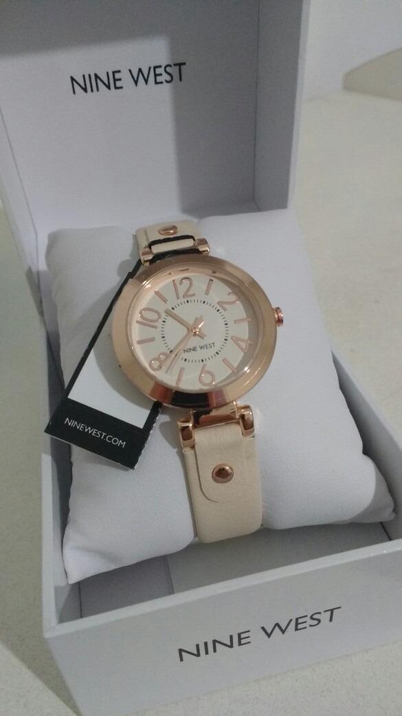 c3c5598d22fd3 relógio nine west feminino - tonalidade ouro rosa. Carregando zoom.