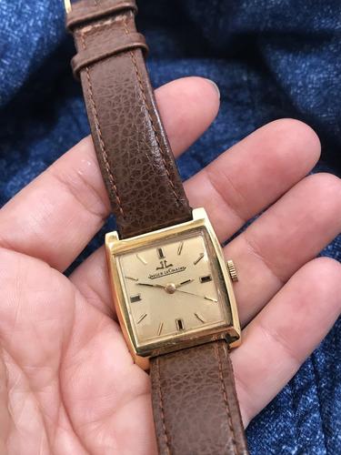 relógio nível omega ouro 18k maciço jaeger lecoultre fivela assinada à corda - 13 anos no mercado livre
