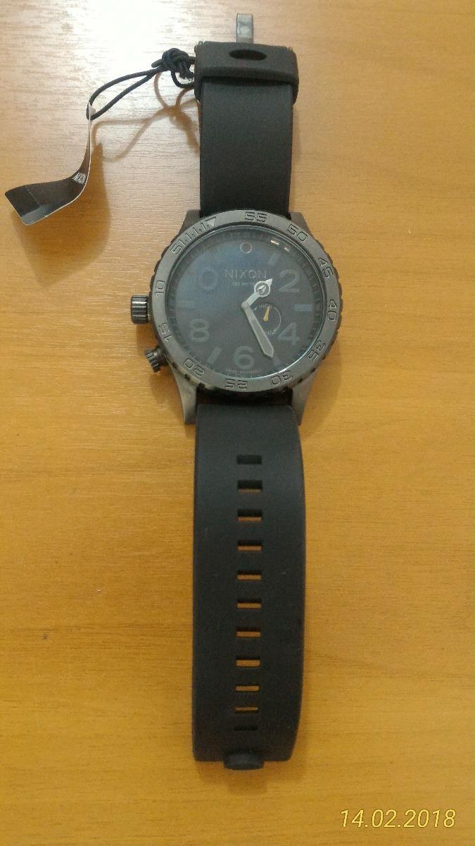 5afd3b9beb8 relógio nixon 51-30 all gunmetal black novo na caixa. Carregando zoom.
