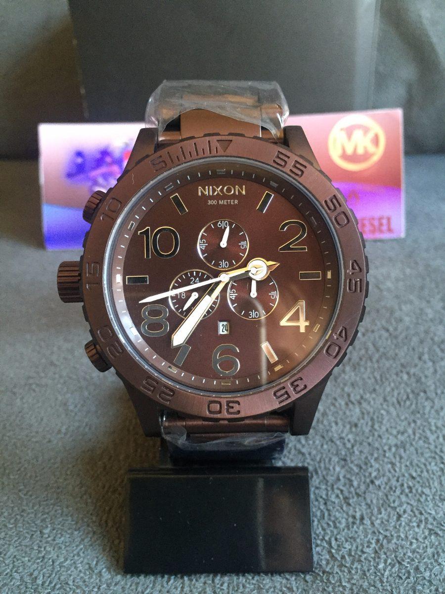 a48379b9811 Relogio Nixon 51-30 Chrono Brown 100% Original 12x S  Juros - R  539 ...