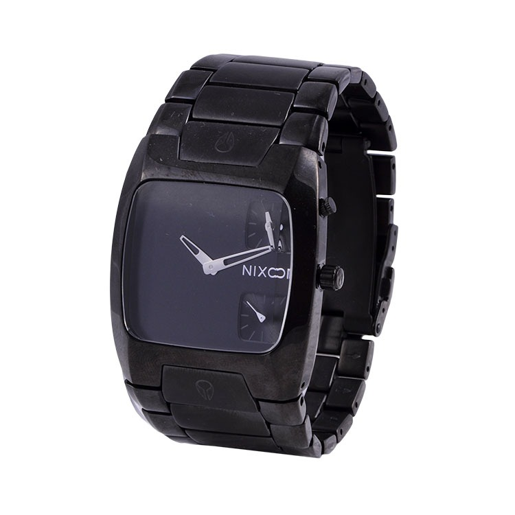 7611916bb84 Relógio Nixon Banks All Black - R  942