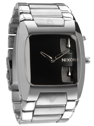 5784bd1279d Relógio Nixon Banks Black Original Com Caixa E Manual - R  989
