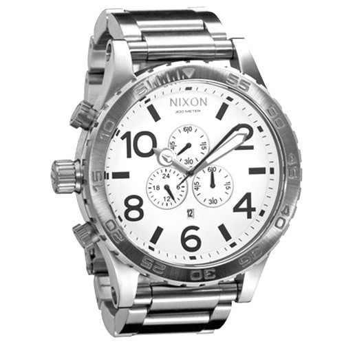 relógio nixon chrono 51-30 com 3 anos de garantia - original