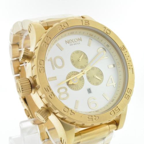 relógio nixon chrono 51-30 original + 3 anos de garantia