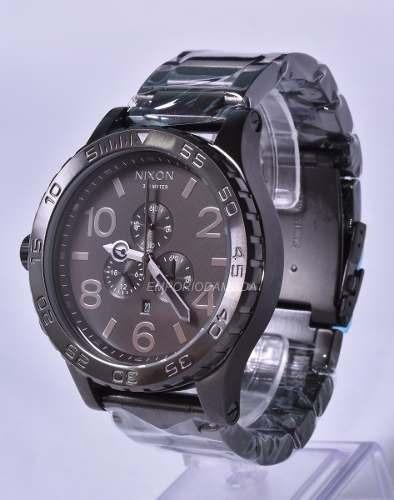 84bdc02ed2c Relógio Nixon Chrono 51-30 Original + 3 Anos De Garantia - R  439