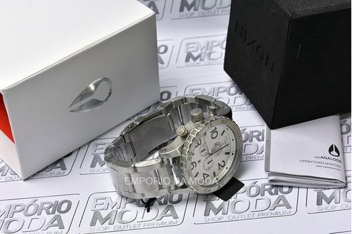 relógio nixon crhono 51-30 original  - 3 anos de garantia