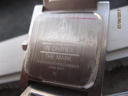 relógio nixon feminino original