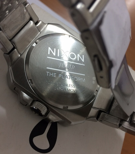 relógio nixon the platform novo original