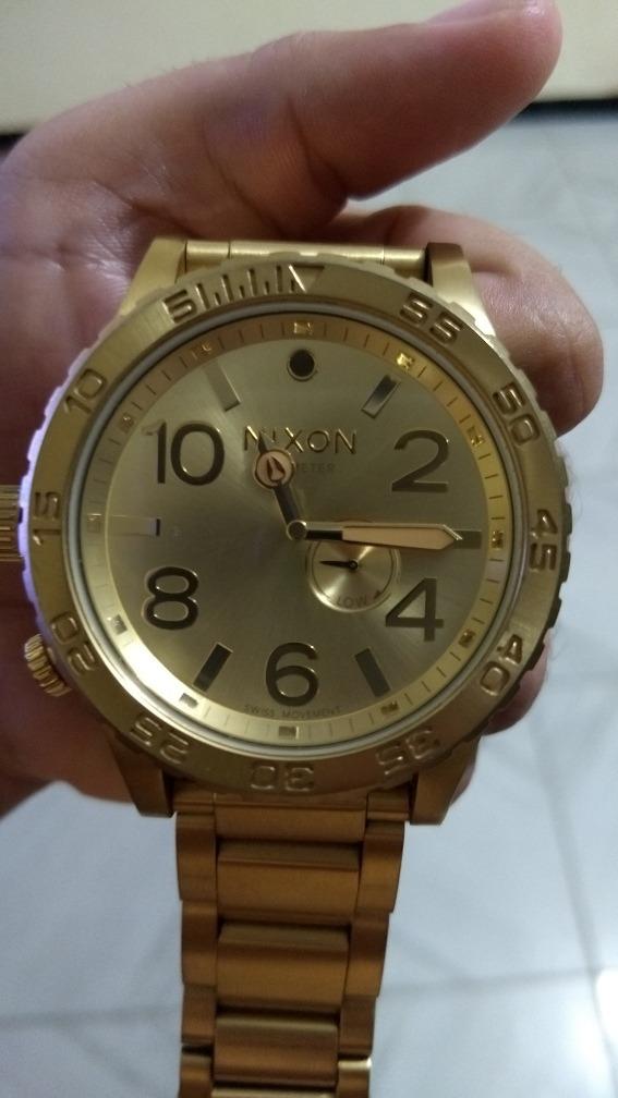 cba05ecd7b7 relógio nixon tide 51-30 dourado. Carregando zoom.