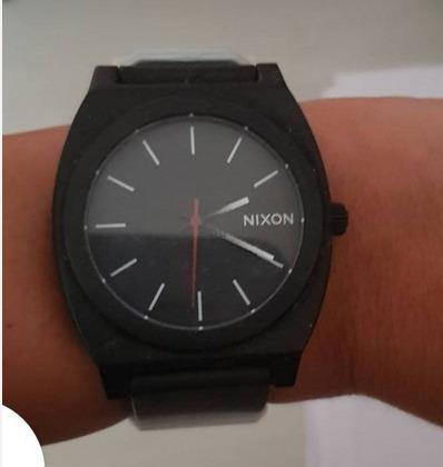 relógio nixon time teller com pulseira black/ white fade