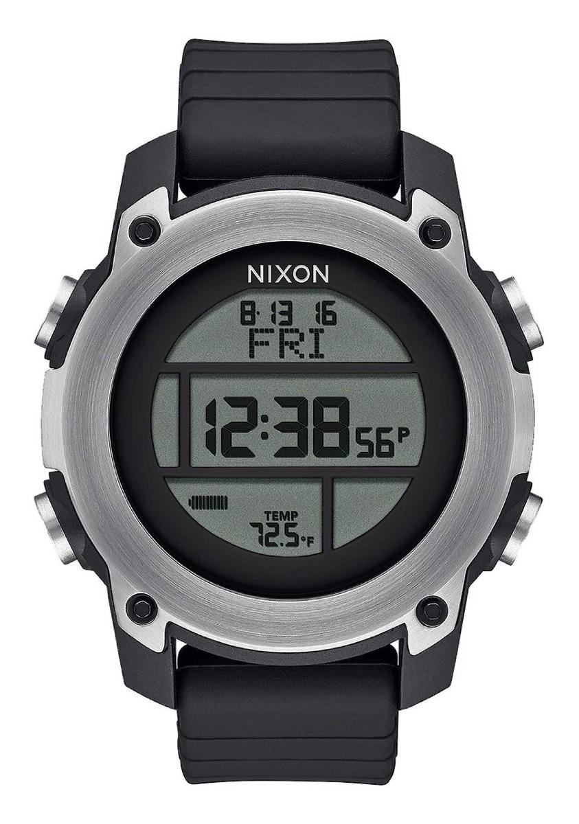 01d6c007fdf Relógio Nixon Unit Dive Preto (mergulho)  magicasurf - R  879