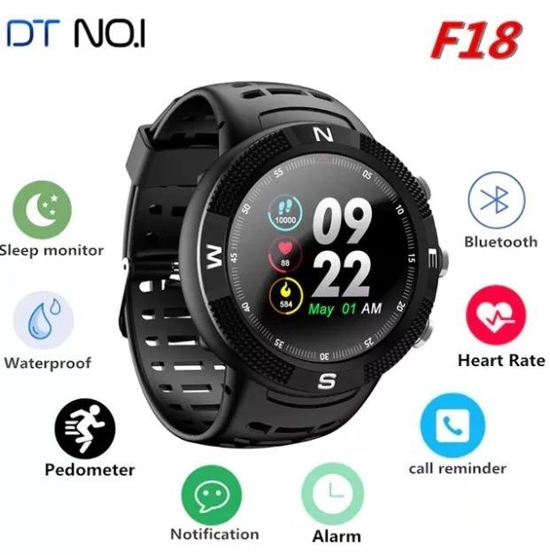 e243313cd9d Relógio No.1 F18 Smartwatch - Gps - Pronta Entrega Original - R  299 ...