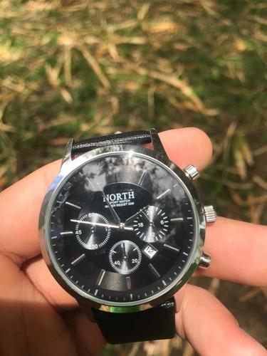 relógio north + pulseira