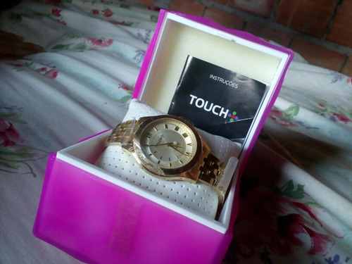 relógio novo na caixa, nunca foi usado